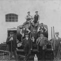 Brauerei Mitarbeiter um 1918