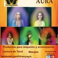 Productos para relajación y armonización.  Fotografía del aura