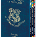 """Coffret """"La Bibliothèque de Poudlard"""""""