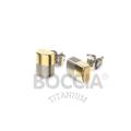 Ohrtsecker Titan bicolor/ teilgoldplattiert von Boccia