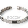 Armband Titan mit Carbon-Einlage von Boccia