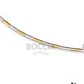Collier Titan bicolor/ teilgoldplattiert von Boccia