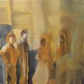 Nachmittag, Öl auf Leinwand, 2012