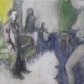 Wahl der Dame, Öl auf Leinwand, 2012