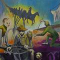 Eroberung, Öl auf Leinwand, 2012, 80 x 100 cm