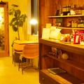 二階スペースでカフェMUGIさんのフードやドリンクをお召し上がりになれます