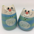 Salzstreuer Katzenpaar Artikel - Nr. 2324