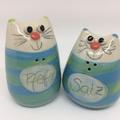 Salzstreuer Katzenpaar Artikel - Nr. 2324 /  24,- €