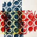 Graphische Serie 2017,8; 78 x 57 cm, Lithographie; Graphische Arbeit von Micha Hartmann, Esslingen