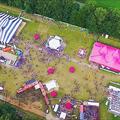 M-Tent 32mx50m Zebra & M-Tent 22,5x32 Roze
