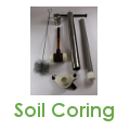 Soil sampling equipment, soil corer, soil sampler, soil probe, soil core storage solutions