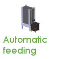 Automated larvae feeding, larval feed automat, automatic feeder for larvae, insect feeder, feeding station