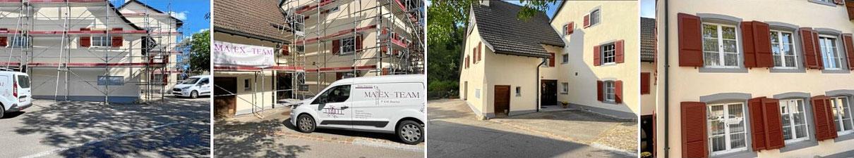 Fassade streichen und sanieren in Baselland, Schweiz