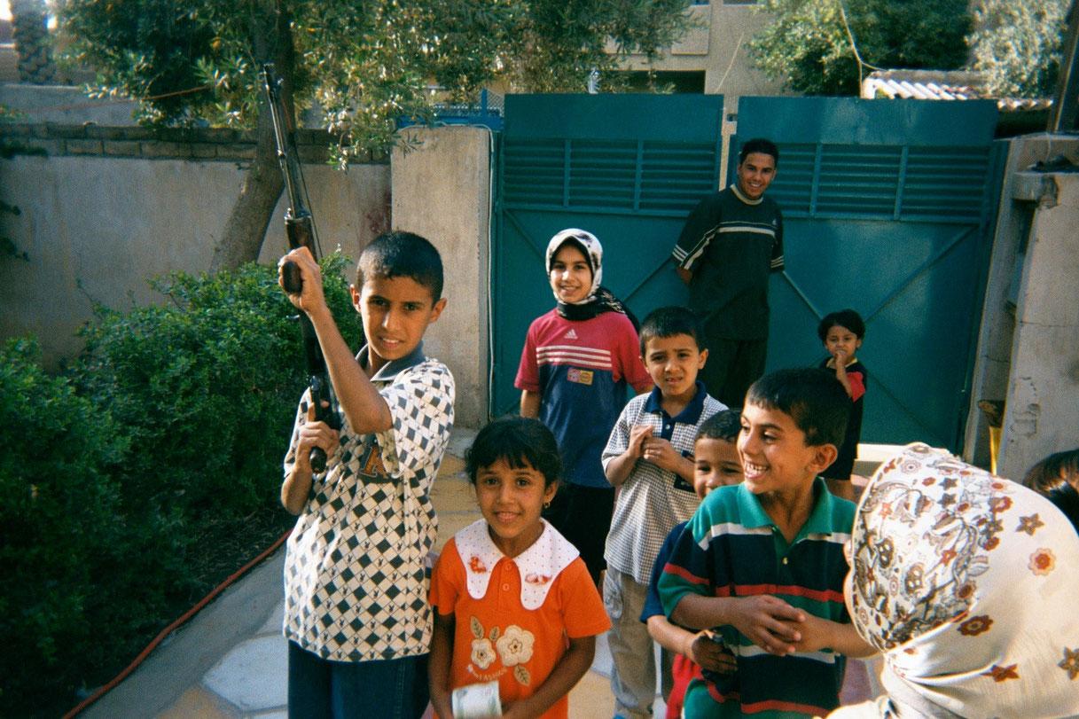 Ahmed Salah, 13, Baghdad