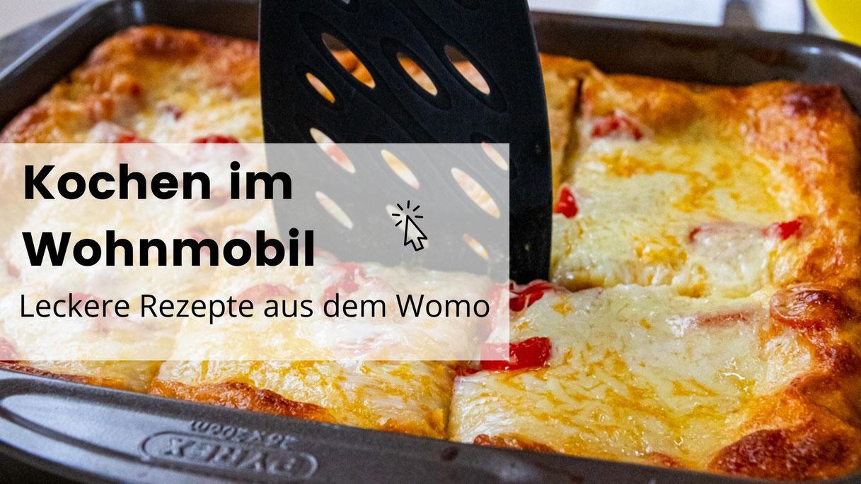 Leben im Wohnmobil, Vanlife, Camping, Wohnmobil, Kochen im Wohnmobil