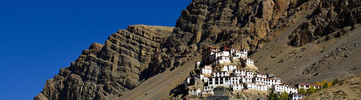 Spiti, Garhwal, Reisen, Trekking, Kye Gompa