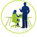 Einweisung neuer Arbeitsmittel Optimierung vorh. Büroarbeitsplätze nachErgonomie- Richtlinien