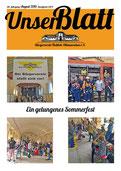 Bürgerverein Flottbek-Othmarschen - Unser Blatt Ausgabe 08/2016