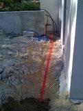grillage avertisseur rouge pour cable electrique enterre
