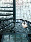 Glasbaustein rund betongläser glasstahlbeton Ft-Glasbausteine Glasbausteine-center Glasbausteine-center.de Glasstein Betonglas treppen solaris element