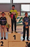 2ème place pour Loïs Saubère au Trophée de l'  ècole de vélo à Fronton le 22 mai 2016