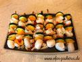 Gemüse auf Servierplatte von Pampered Chef aus dem Onlineshop