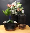 Keramik Weinkühler für Flaschen und Bocksbeutel