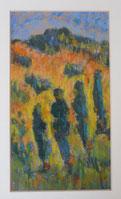 Pastel impressioniste de François Verdier