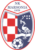 nk marsonika slavonski brod 1909 logo