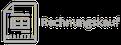 Cleanboxone.de, Startseite, Icon Rechnungskauf in schwarz weiß