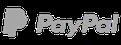 Cleanboxone.de, Startseite, Icon Paypal in schwarz weiß