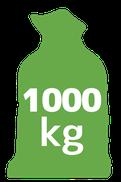 1000 kilogramów
