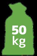 50 kilogramów