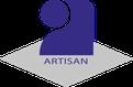 logo artisan bleu