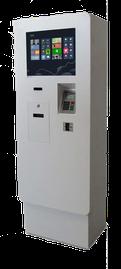 Automate de paiement (intérieur & extérieur)