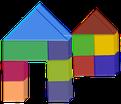 Bausteine und Bauklötze