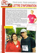 LMC France jean jacques goldman Newsletter N°2 lettre information leucemie myeloide chronique cancer sang