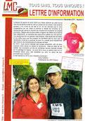 LMC France jean jacques goldman Newsletter N°2 lettre information leucemie myeloide chronique cancer sang