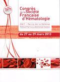 SFH LMC FRANCE SOCIETE FRANCAISE HEMATOLOGIE 2012 CONGRES LEUCEMIE MYELOIDE CHRONIQUE