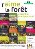 « J'aime la forêt : ensemble, protégeons-la ! »
