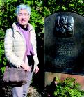 ベルリン:ケーテ・コルヴィッツの墓前にて