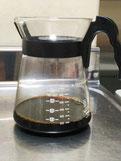 氷だしコーヒー抽出完了