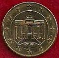 MONEDA ALEMANIA - KM 210 - 10 CÉNTIMOS DE EURO - 2.002 (J) ORO NÓRDICO (MBC/VF) 0,35€.