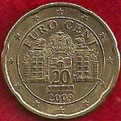 MONEDA AUSTRIA - KM 3140 - 20 CÉNTIMOS DE EURO - 2.009 - ORO NÓRDICO (MBC/VF) 0,75€.