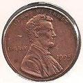 MONEDA ESTADOS UNIDOS - KM 201b - 1 CÉNTAVO DE DÓLAR USA - 1.995 - COBRE (MBC+/VF+) 0,60€.