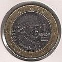 MONEDA AUSTRIA - KM 3088 - 1 EURO - 2.006 - CUPRONÍQUEL - LATÓN - BIMETÁLICA (MBC-/VF-) 2€.
