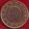 MONEDA BÉLGICA - KM 226 - 5 CÉNTIMOS DE EURO - 1.999 - ACERO - COBRE (MBC/VF) 0,50€.