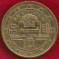 MONEDA AUSTRIA - KM 3087 - 50 CÉNTIMOS DE EURO - 2.002 - ORO NÓRDICO (MBC/VF) 0,90€.