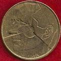 MONEDA BÉLGICA - KM 164 - 5 FRANCOS BELGAS (BELGIE) 1.986 - ALUMINIO - BRONCE (MBC/VF) 0,60€.
