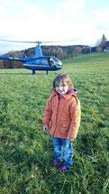 Helikopterflug ab Haustüre